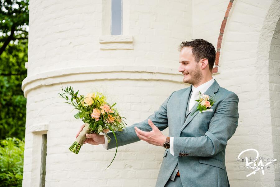 Bruidsfotografie Oirschot fotograaf bruidegom