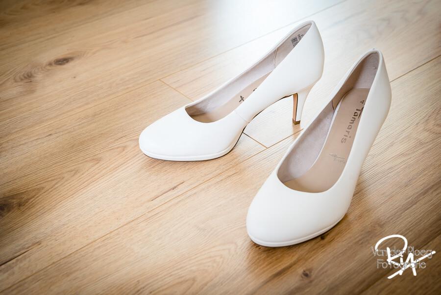 Bruidsreportage Den Bosch trouwschoenen