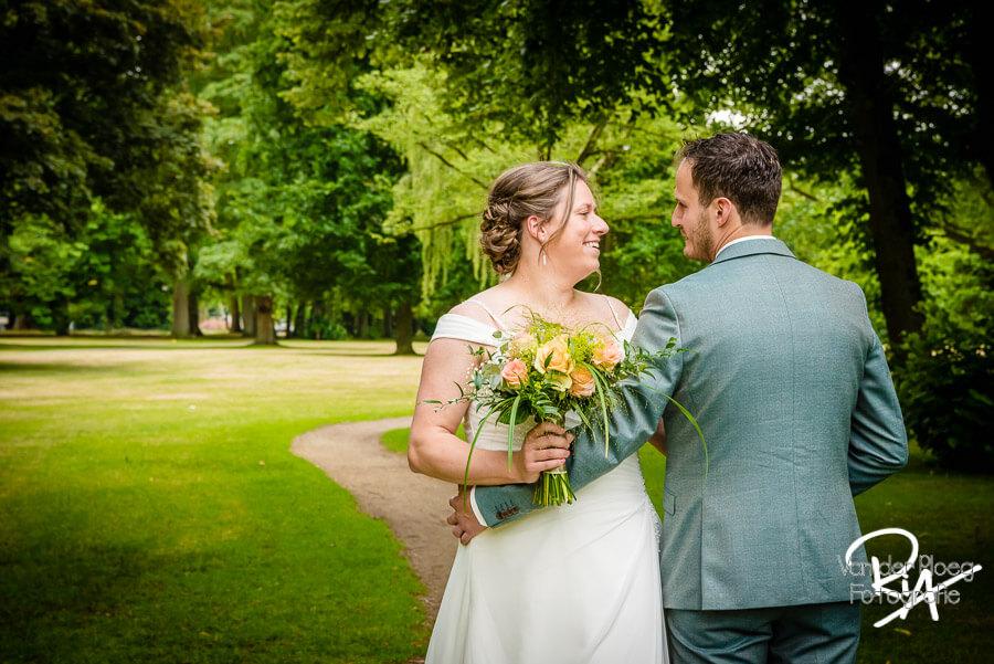 Fotograaf Oirschot bruidsreportage bruidspaar