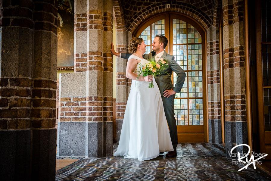 Fotograaf bruidspaar Vught raadhuis