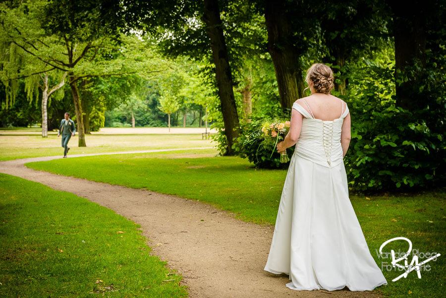 Trouwfotograaf Oirschot bruidsreportage natuur