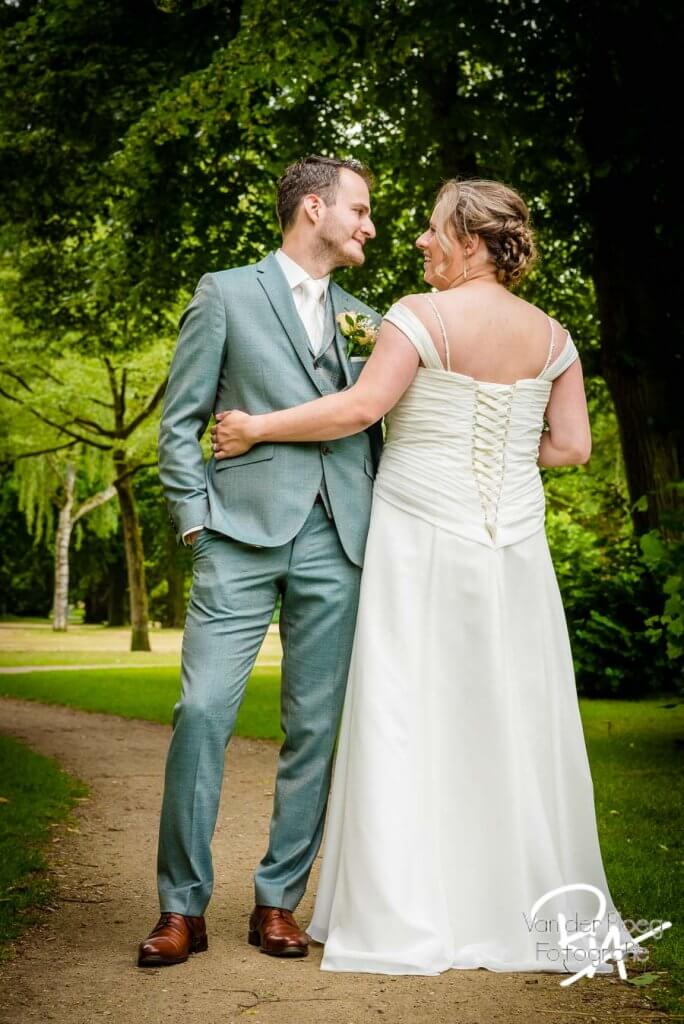 Trouwfotograaf bruidsreportage Oirschot bruidspaar