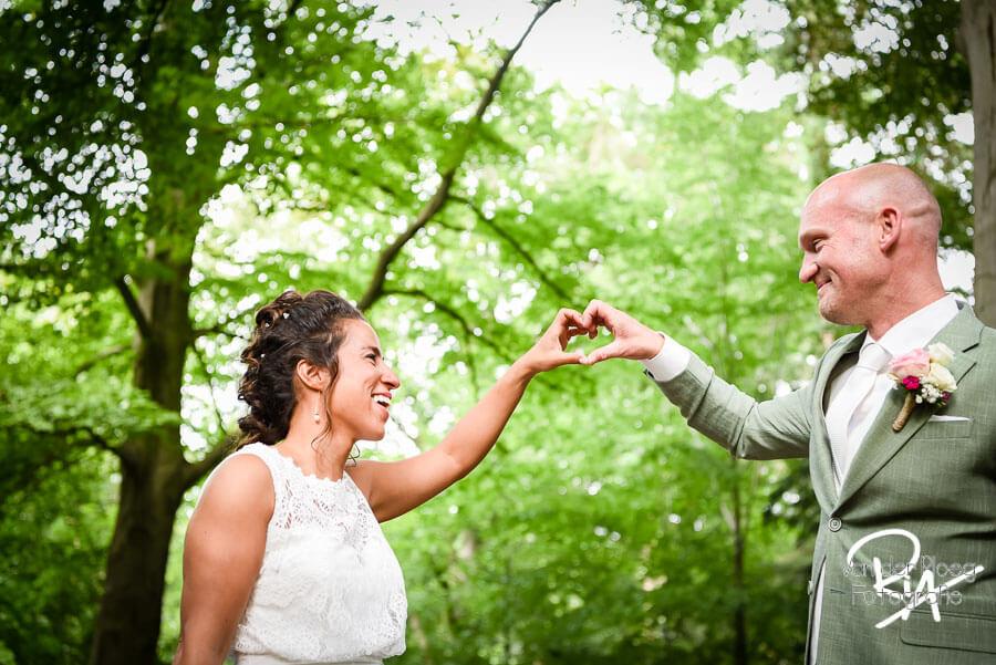 Bruidsfotograaf Goirle bruidsreportage natuur