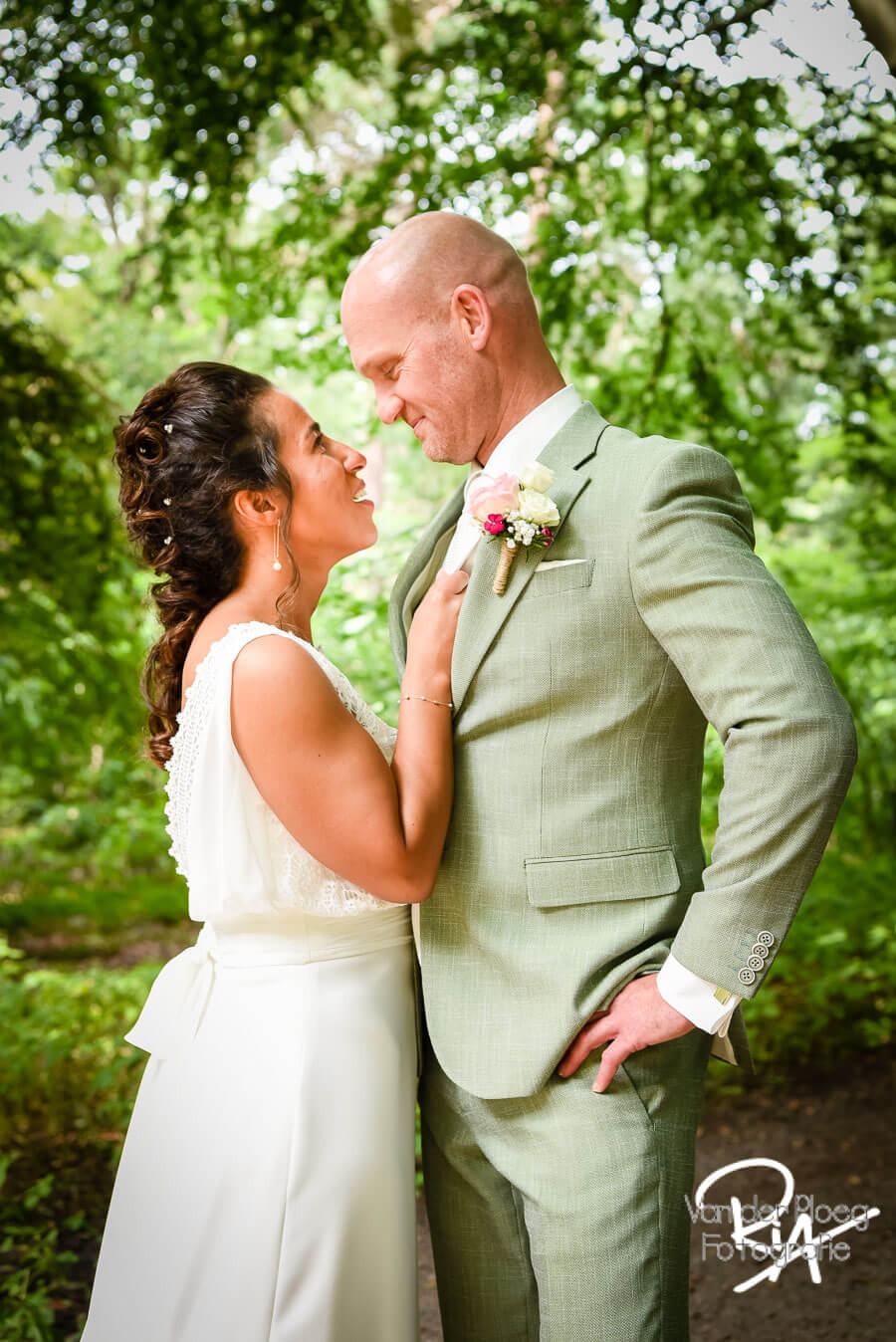 Fotograaf Tilburg bruiloft huwelijk bruidspaar