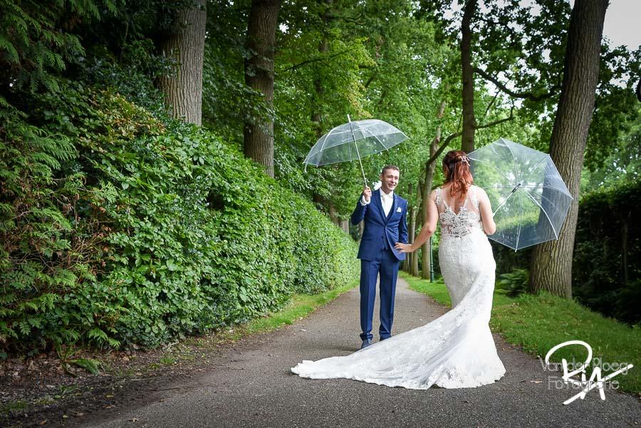 Bruidsfotografie fotograaf Mierlo natuur