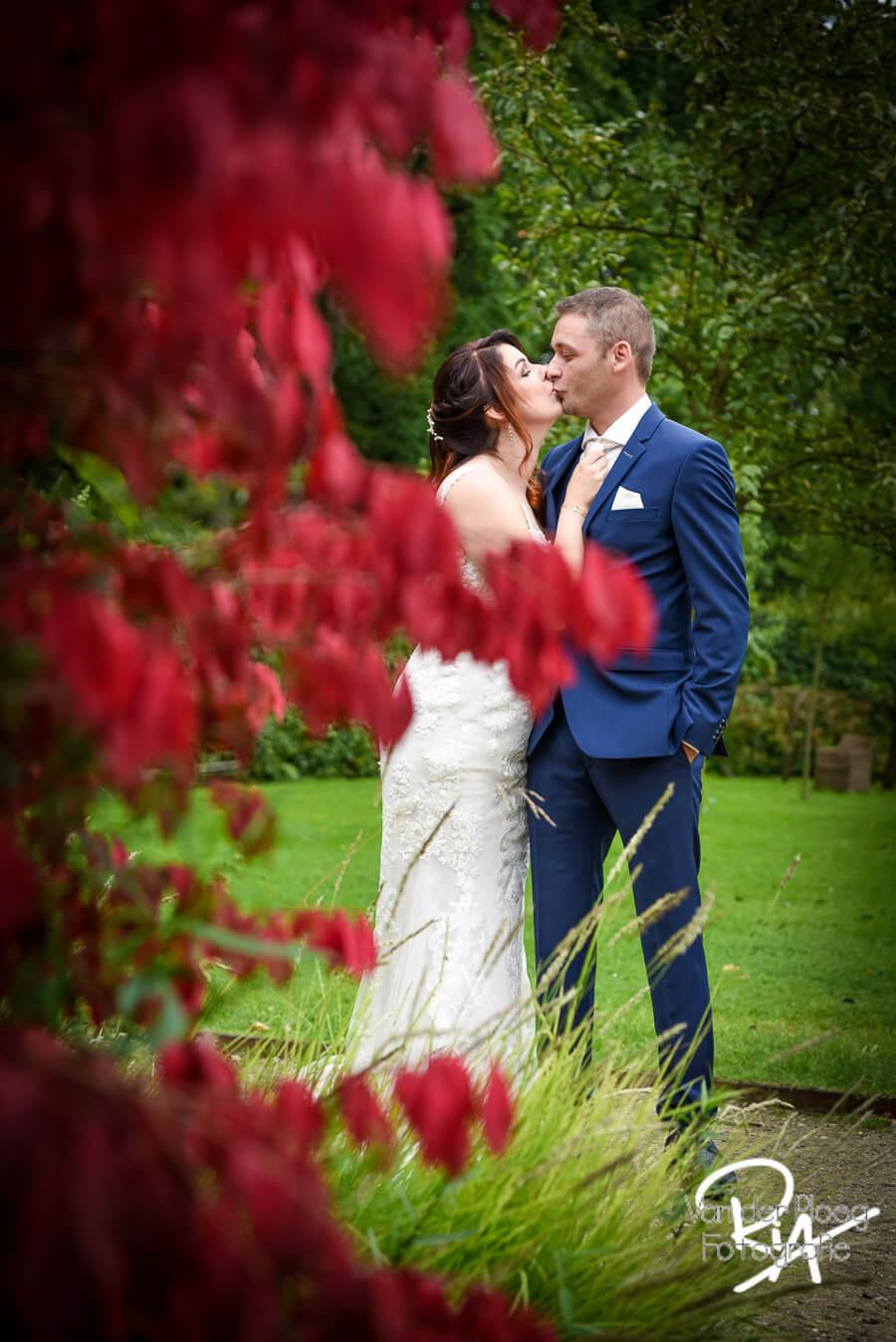 Bruidsreportage fotograaf Mierlo natuur