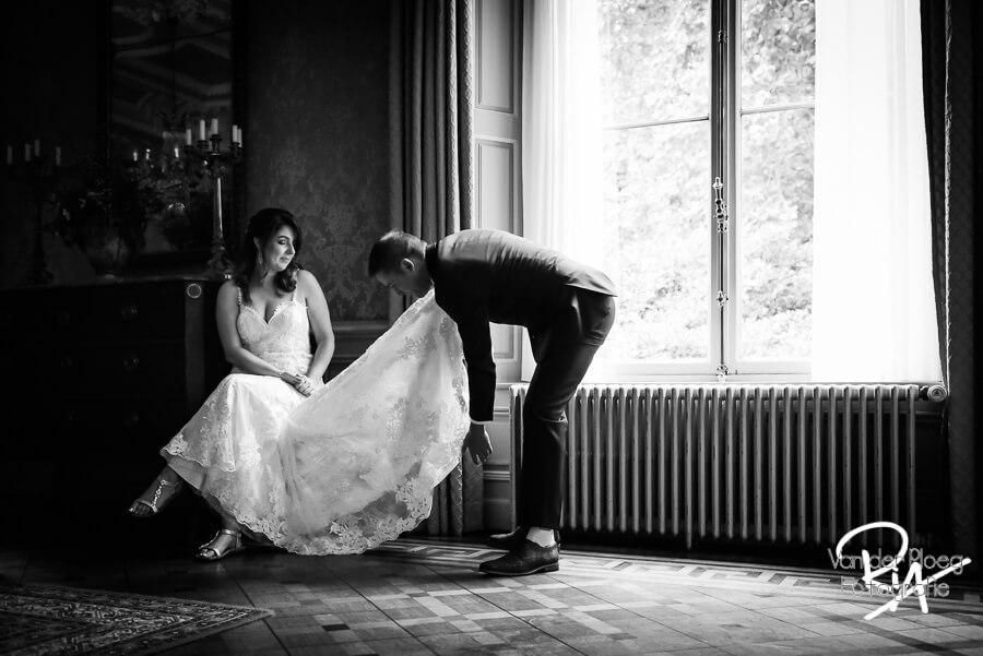 Fotograaf huwelijk kasteel Geldrop